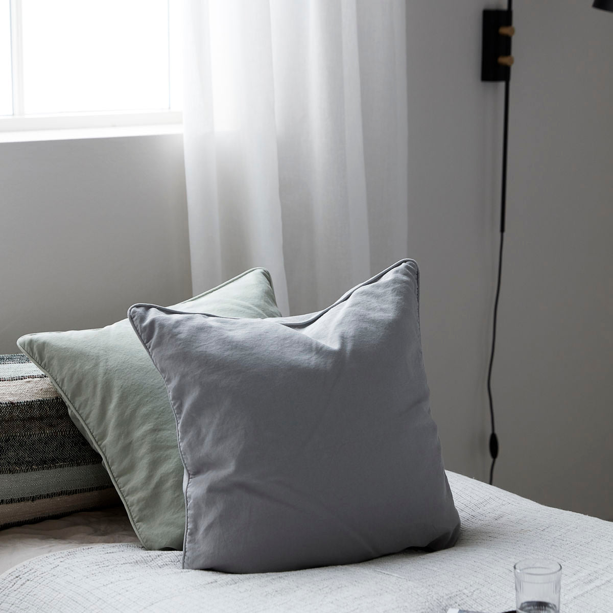 Plain Grey Cushion Cover (50 x 50cm)