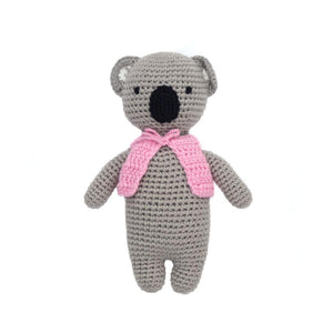 Hand Crocheted Mini Doll - Kayla the Koala