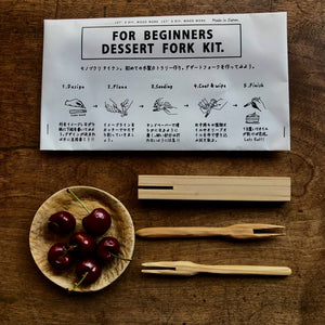 Japanese Whittling DIY Kit - Make My Own Desert Fork Kit