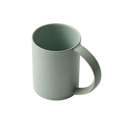 Oblong Tall Mug in Celadon Green