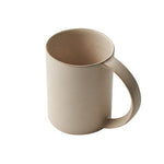 Oblong Tall Mug in Ivory