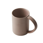 Oblong Tall Mug in Pink