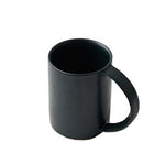 Oblong Tall Mug in Shade Green