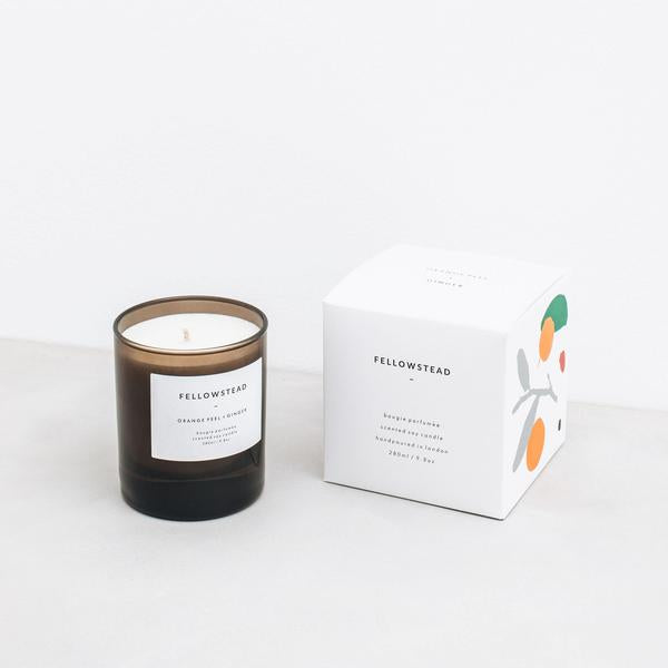 I Go To Nature Scented Candle - Orange Peel + Ginger 280ml / 9.2oz