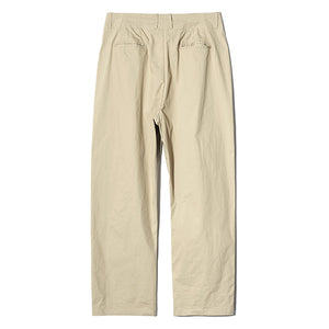 Comfort Wide Tapered Pants in Beige
