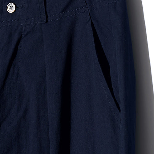 Comfort Wide Tapered Pants in Navy