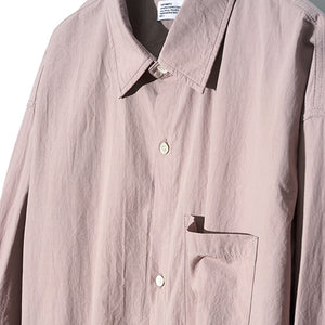 String Washing Shirt in Smoke Pink