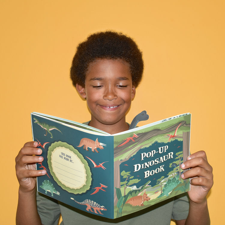 Make Your Own Pop Up Dinosaur Book