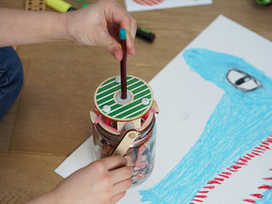 Make Your Own Pencil Sharpener Kit