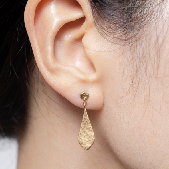 Rhombus Shaped Earrings