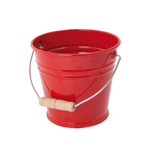 Children's Sand Bucket in Red