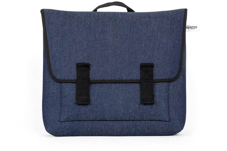 Satchel Bag in Denim Fabric for Laptop 13""