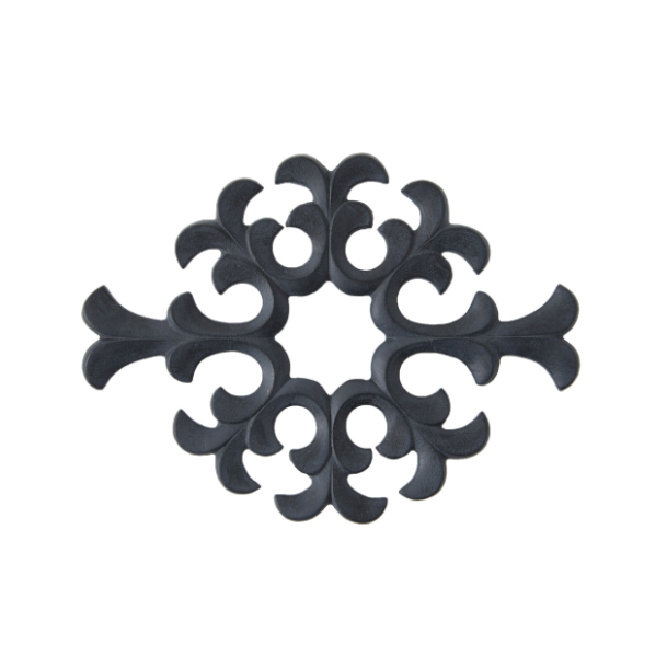 Cast Iron Trivet from Japan - Water Plant