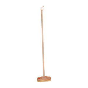 Children's Long Handle Outdoor Scrubber 90cm for 3 -8 Year Olds