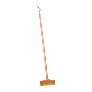 Children's Long Handle Outdoor Scrubber 70cm for 1 -3 Year Olds