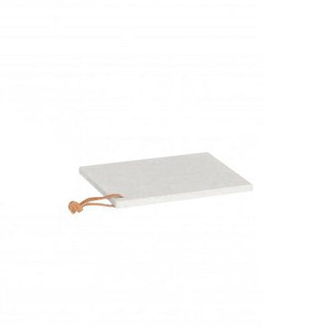 White Square Terrazzo Serving Board in Small Size
