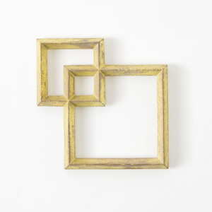 Brass Squares Trivet from Japan