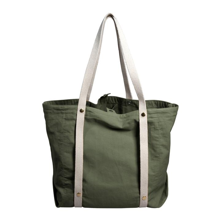 Tote Bag in Olive Green