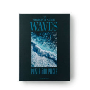 500 Pieces Wonder of Nature Puzzle Waves