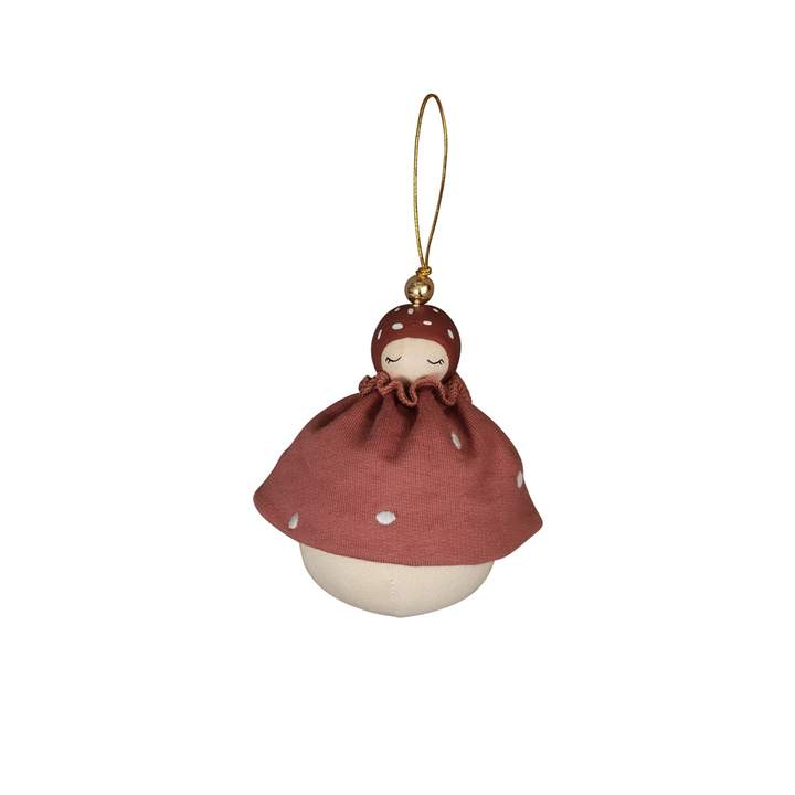 Wish Keeper Hanging Ornament - Mushroom