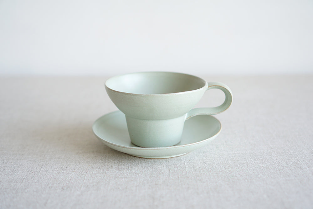 Copy of Y Mug in Celadon Green