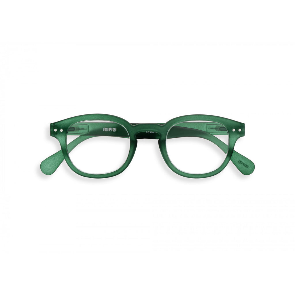 Reading Glasses  - #C Shape Green