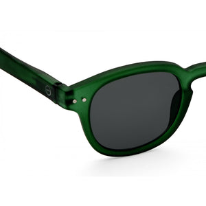 Sunglasses  - #C Shape Green Frame