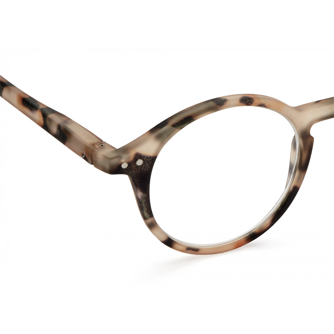 Reading Glasses  - #D Shape Light Tortoise