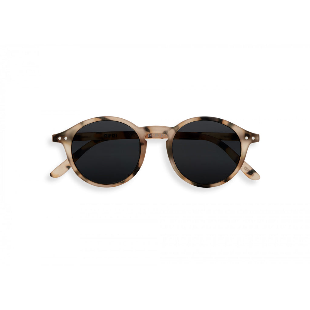 Sunglasses  - #D Shape Light Tortoise Frame