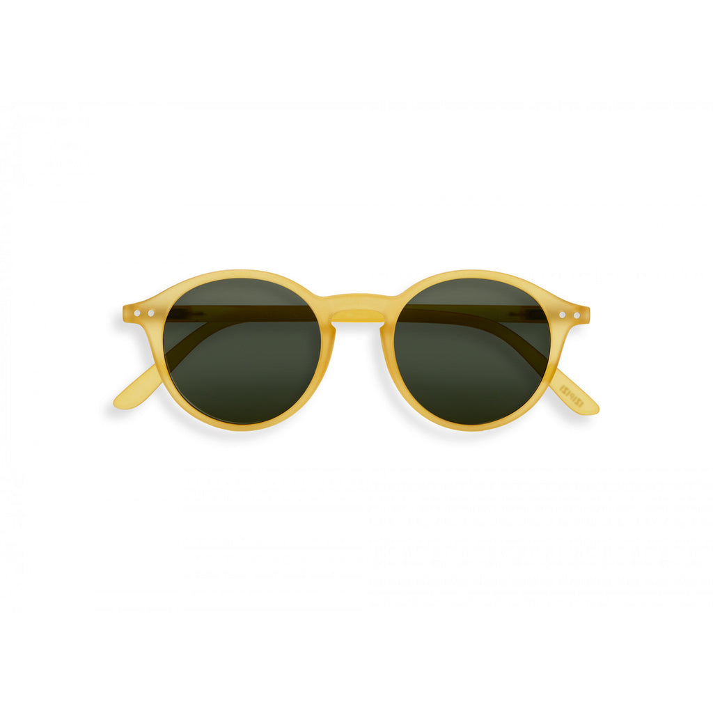 Sunglasses  - #D Shape Yellow Honey Frame