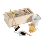 Doll House Cleaning Set in White