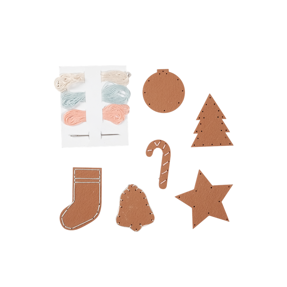 Gingerbread Cookie Craft Kit