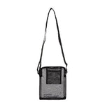 Sheer Silk(No-Bnag) Mini Shoulder Bag in Black