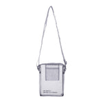Sheer Silk(No-Bnag) Mini Shoulder Bag in Sky Grey