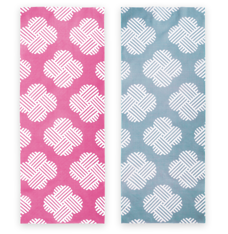 Cotton Double Sided Wish Thread Pattern Japanese Towel