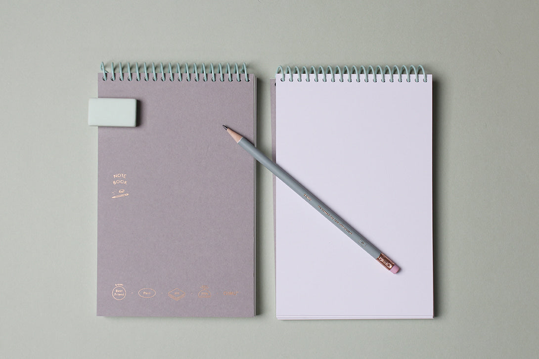 Spiral Binding Note Book with 100 Sheets