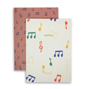 Notes Notebook Set of 2 - Dot Grid & Plain