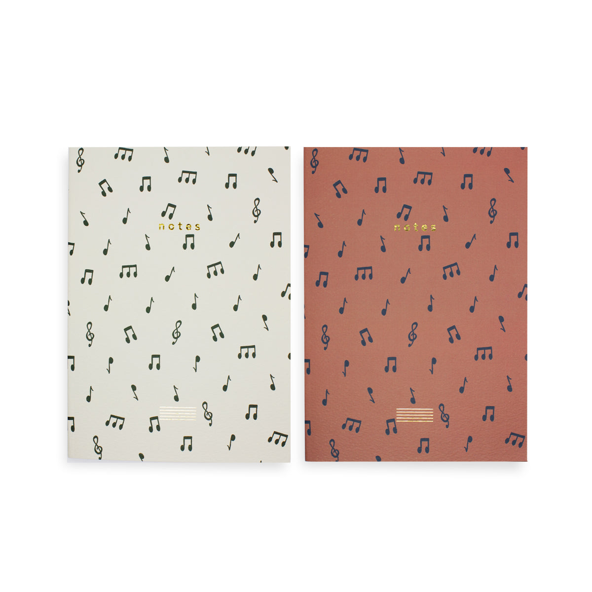 Notes Notebook Set of 2 - Dot Grid & Ruled