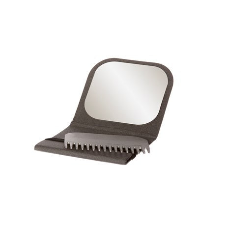 Portable Case with Comb and Mirror