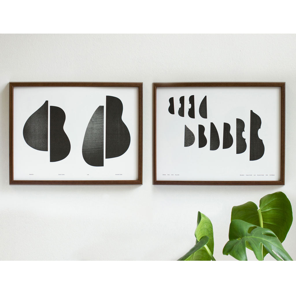 String Instruments (B) Poster Unframed