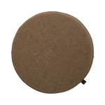 Cocorobox Circle Felt Cushion in Oatmeal Beige