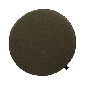 Circle Felt Cushion in Khaki