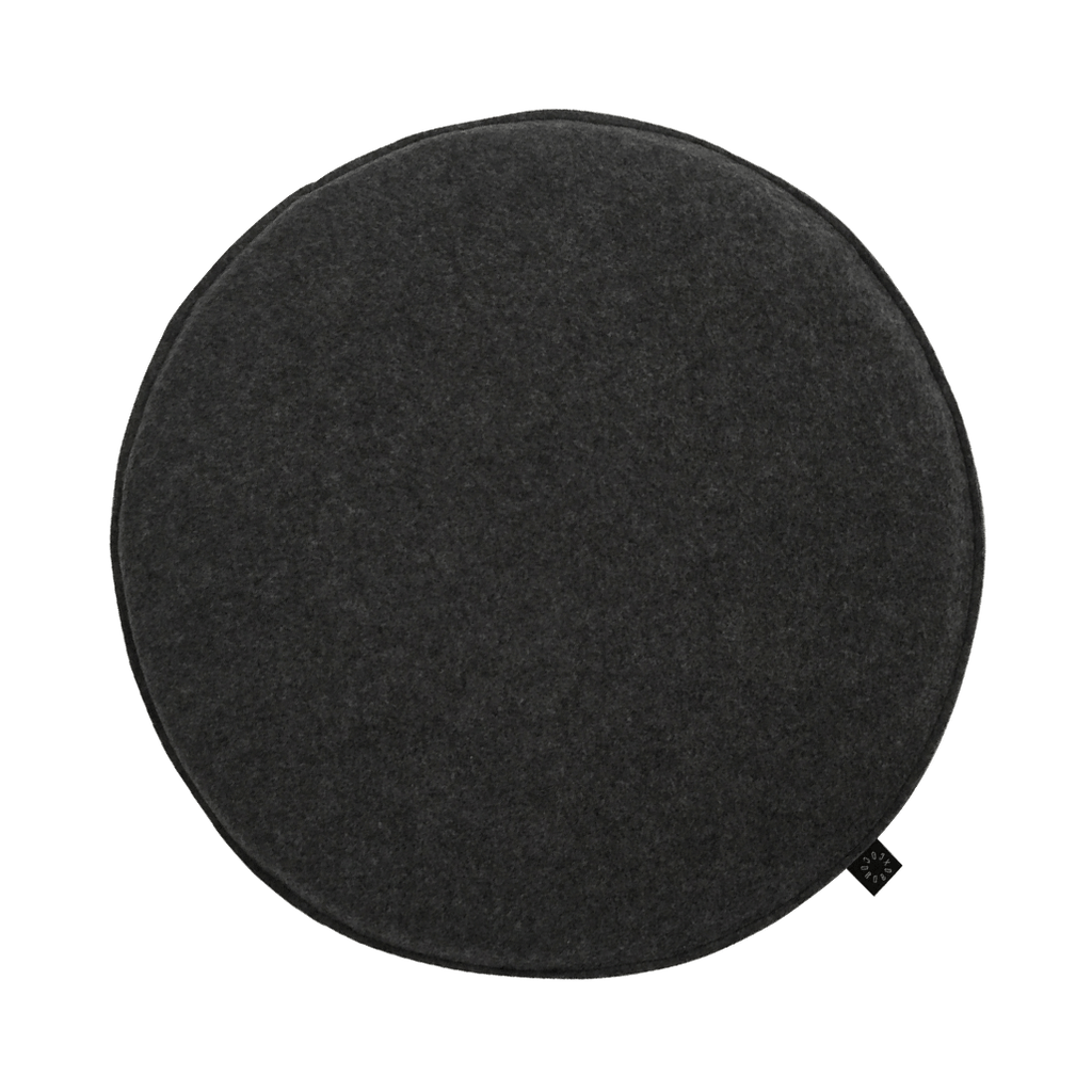 Cocorobox Circle Felt Cushion in Grey