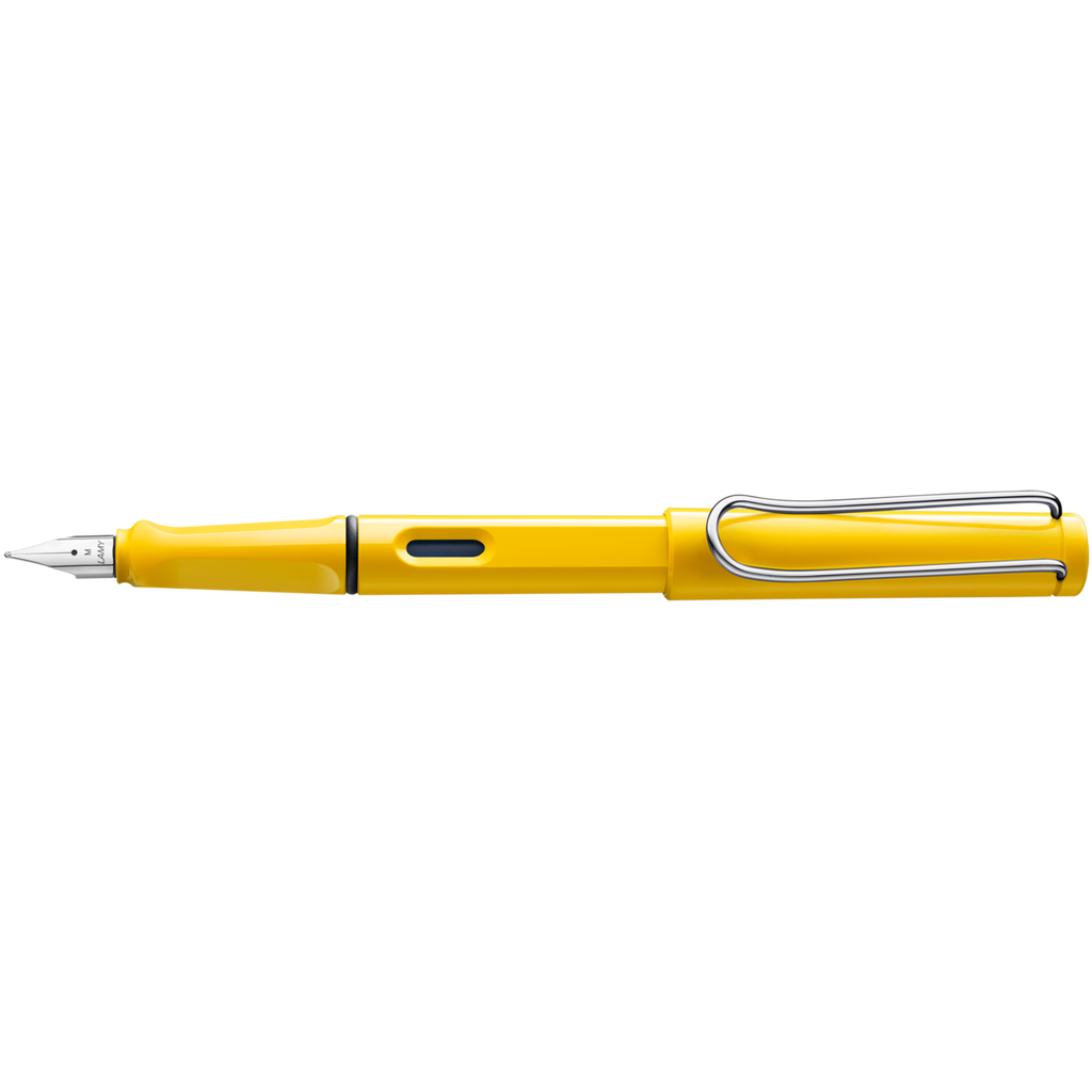 Safari Fountain Pen in Yellow