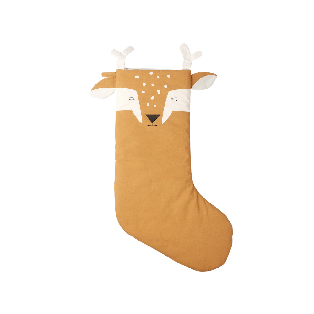 Christmas Animal Stocking Silly Fawn