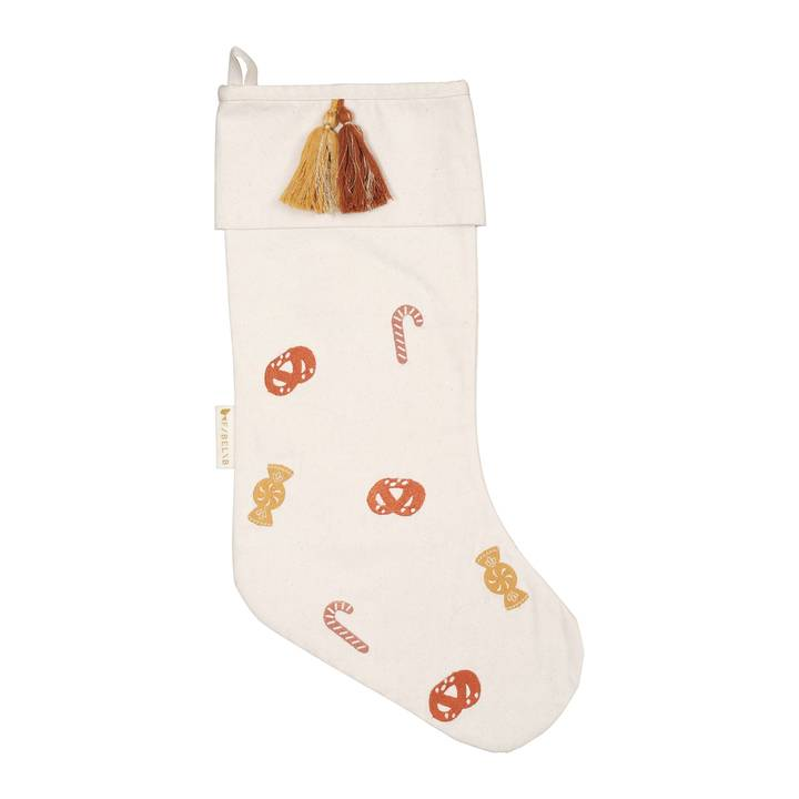 Christmas Embroidered Stocking Candies