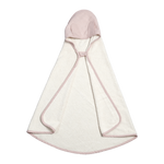 Animal Hooded Baby Towel in Mauve