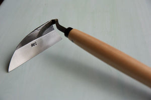 Right Handed Weeding Hoe with Pine Handle