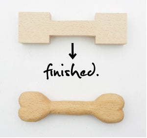 Japanese Whistling DYI Kit - Make My Own Dog's Toy Bone Kit