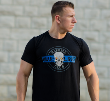 BLUE LINE BARBELL CLUB GEAR